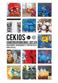 Cekios Exhibition