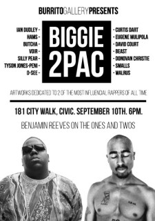 BIGGIE and TUPAC – THE EXHIBITION