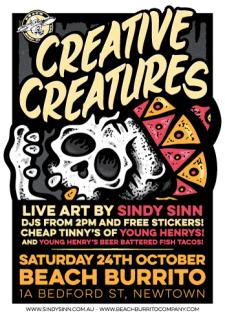 Creative Creatures: Sindy Sinn x YH