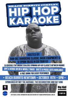 Hip Hop Karaoke Newtown