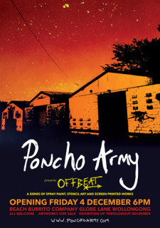 PONCHO ARMY – 'OFFBEAT' EXHIBITION OPENING