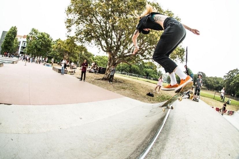 Skating Skateboarding, Aimee Massie, Sydenham Skatepark